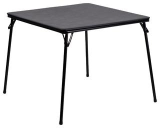 MFO Black Folding Card Table