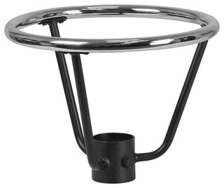 Bar Height Table Base Foot Ring With 3.25'' Column Ring 16'' Diameter
