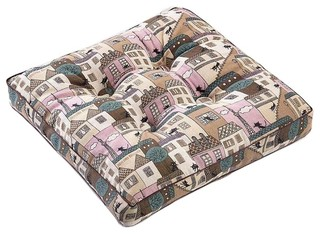 House Square Seat Cushion Floor Pillow Thickened Chair Pad Tatami