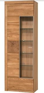 Velle 1 Door Display Cabinet Left