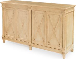 Marksman Cabinet Bleached Pine Beige