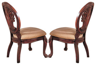 Tabitha Side Chair Set of 2 Cherry