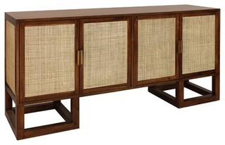 Worlds Away Patrick Cabinet Acacia Wood