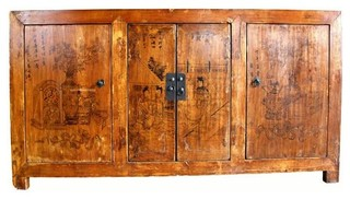Consigned Painted Gansu Sideboard