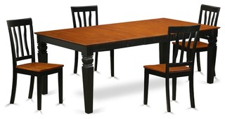 5-Piece Dinette Table Set With A Dining Table And 4 Dining Chairs