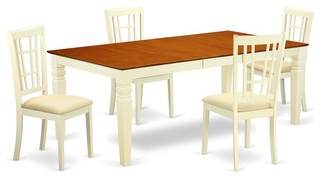 5-Piece Dining Room Set With A Dining Table And 4 Dining Chairs