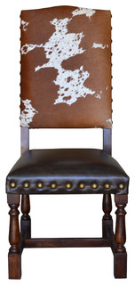 Colton Cowhide Dining Chair Set of 10
