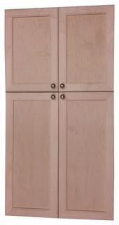 "Village BCK Recessed 4-Door Frameless 18/34 Pantry Cabinet 2.5""x55"""