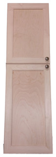 Village BCK on the Wall 2-Door Frameless 24/30 Pantry Cabinet 7.25x57