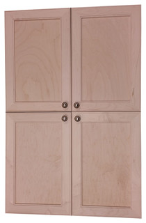 Village BCK on the Wall 4-Door Frameless 24/30 Pantry Cabinet 2.5x57