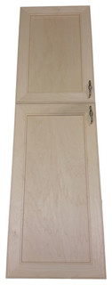 Village BCH on the Wall 2-Door Frameless 30/34 Pantry Cabinet 2.5x67