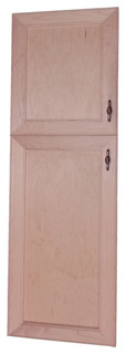 Village BCH on the Wall 2-Door Frameless 18/34 Pantry Cabinet 3.5x55