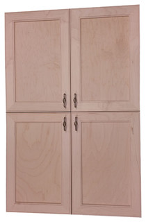 Village BCH on the Wall 4-Door Frameless 18/24 Pantry Cabinet 3.5x45