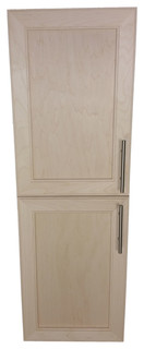 Village BP on the Wall 2-Door Frameless 18/22 Pantry Cabinet 7.25x43