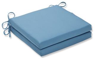 Tweed Aqua Oversized Seat Cushion Set