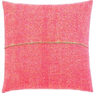 Zuzunaga Merino Wool Seat Cushion Orange