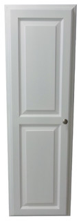 """48"""" Recessed in the Wall White Enamel Finished Montery Medicine Storage Cabinet"""