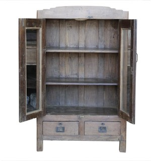 Consigned Antique British Colonial Campaign Cabinet