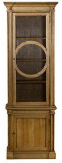 Curations Limited 8810.0006.E272 French O-Style Cabinet Brown