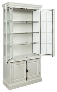 Acme Lovius Curio Cabinet White