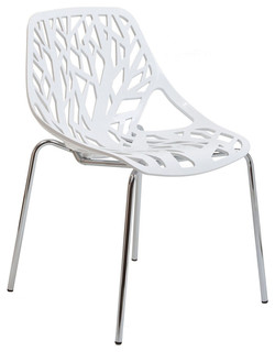 Modway Stencil Dining Side Chair EEI-651-WHI