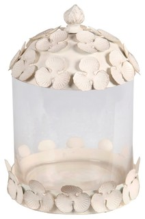 Privilege Small Jar White Finish