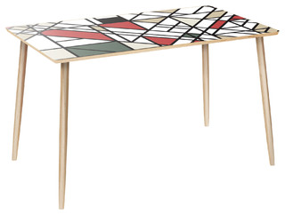 Brixton Dowel Dining Table - Organic Modernism