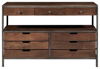 Industrial Rustics Wood & Metal Sideboard