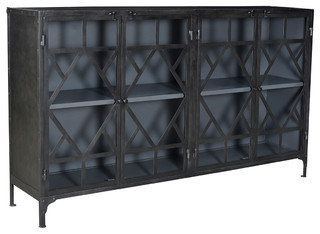 Iron Geometric Sideboard