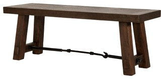 Orient Express Traditions Carter Dining Bench Rustic Java