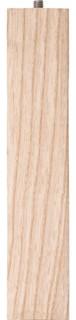 """Waddell Mfg Co 8"""" Ash Parson Legs 2658 8-Pack"""