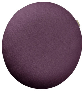 Ola Round Accent Cushion Eggplant