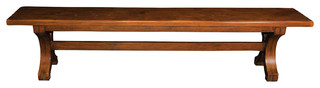 Bench With C Leg Design