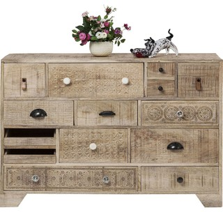 Chantilly Sideboard Carved Mangowood