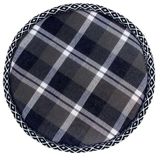 Simple Round Stool Cushion Comfortable Chair Pads Lattice