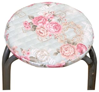 Creative Simple Style Round Seat Cushion Soft and Comfortable Seat Cover Pink