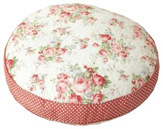 Thicken Round Floor Pillow Cushion Japanese Style Futon Seat Cushion 21.6 A7