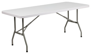 "30""x72"" Granite Plastic Folding Table"