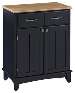 Buffet in Black Finish