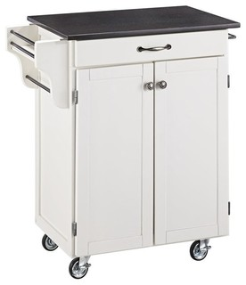 Kitchen Cart in White Finish