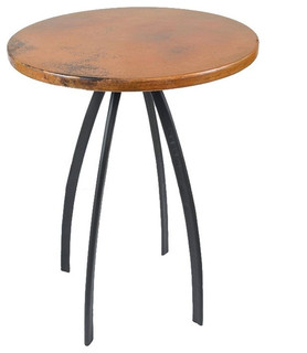 """Chanal 36"""" Counter Table With 30"""" Round Top"""