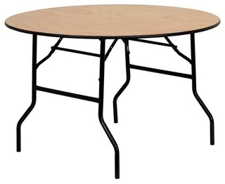 48 in. Round Folding Banquet Table