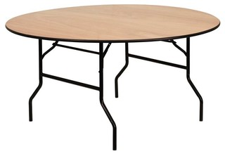 60 in. Round Folding Banquet Table