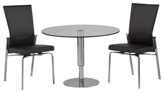 Round Hi-Low Dining Set