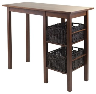 Breakfast Table with 2 Baskets