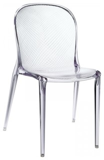 Modway Scape Dining Side Chair Clear