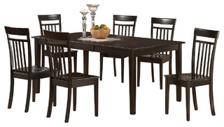 9 Piece Dining Room Set-Dining Room Table With Leaf Plus 8 Dining Chairs.