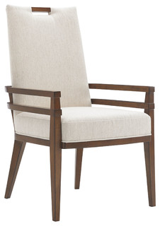 Tommy Bahama Island Fusion Ivory Coles Bay Arm Chair 556-885-02