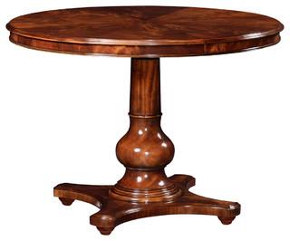 Jonathan Charles Breakfast Table In Antique Mahogany 491030