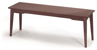 Greenington Currant Short Bench Black Walnut